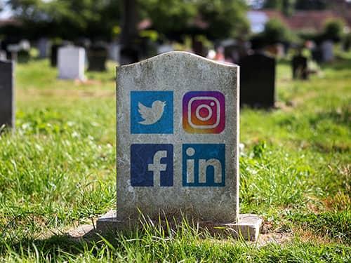 Social media na de dood